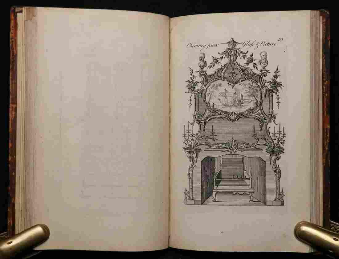 [Plates]  Furniture in Genteel Taste, 1762
