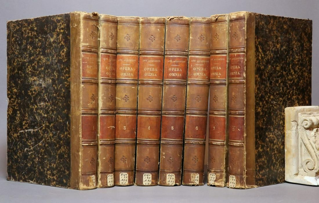 [Period Bindings, Folios, Augustini Opera, Set]