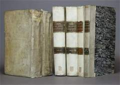 [Period Bindings, Folios, 2 Works in 6 vols]