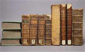 Period Bindings Several Works 17th18th c