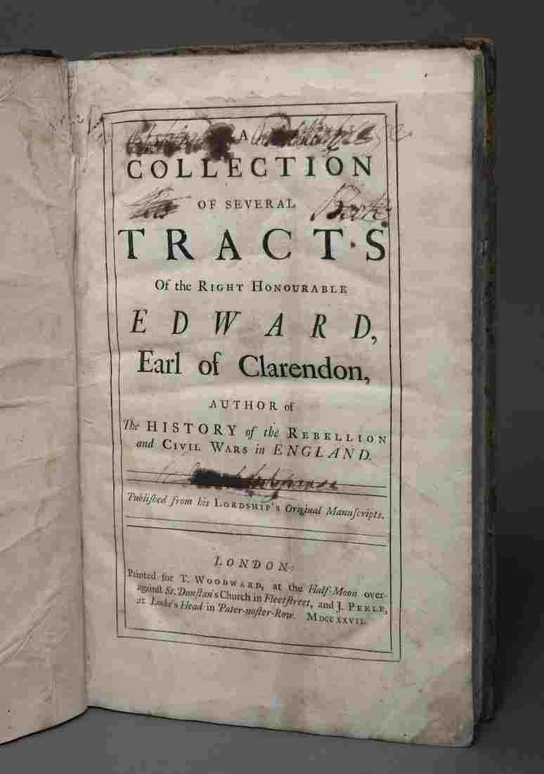 Earl of Clarendon's Tracts, 1727