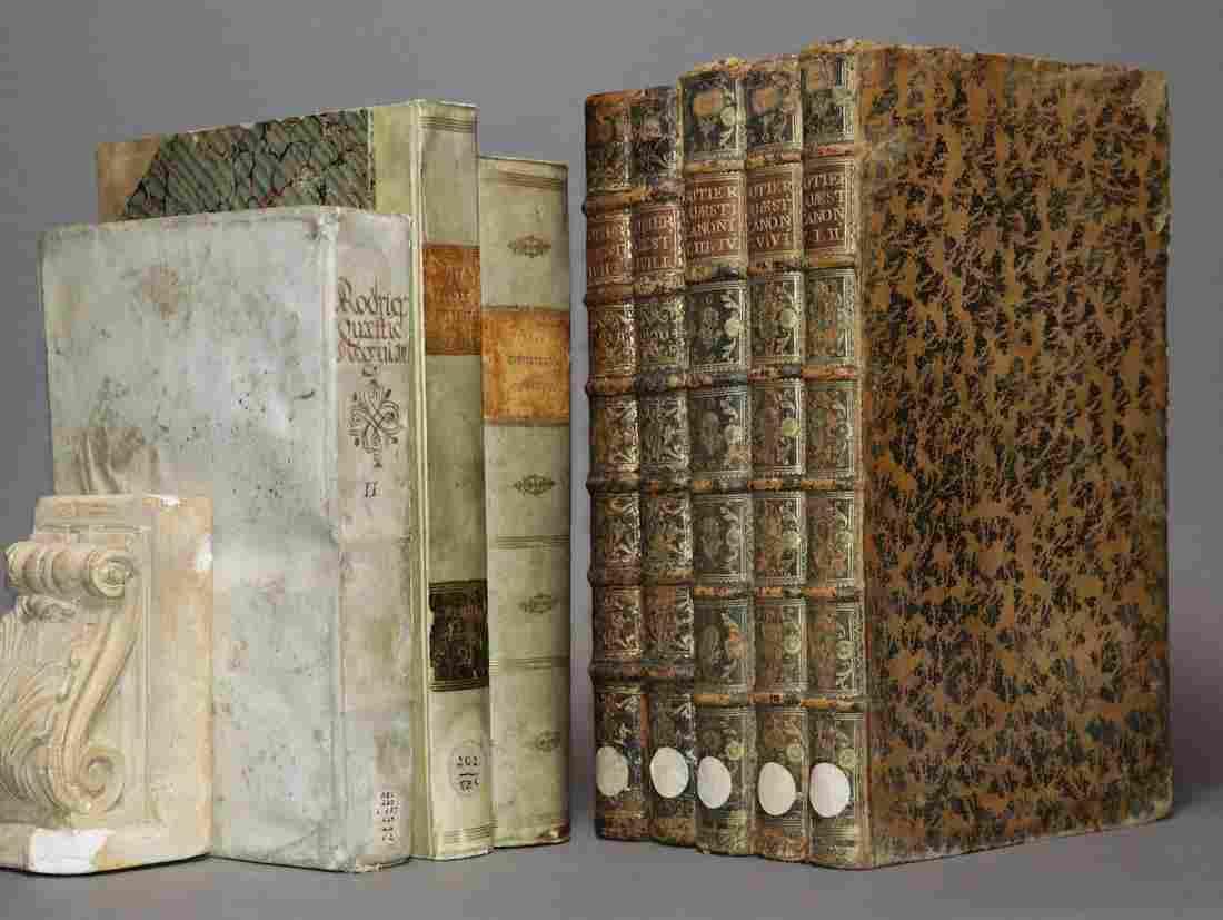 [Period Bindings, Folios, 8 volumes]