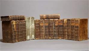 [Period Bindings, Antique Books, 18th c.]