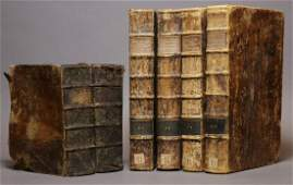 Period Bindings Folios 18th c 6 vols