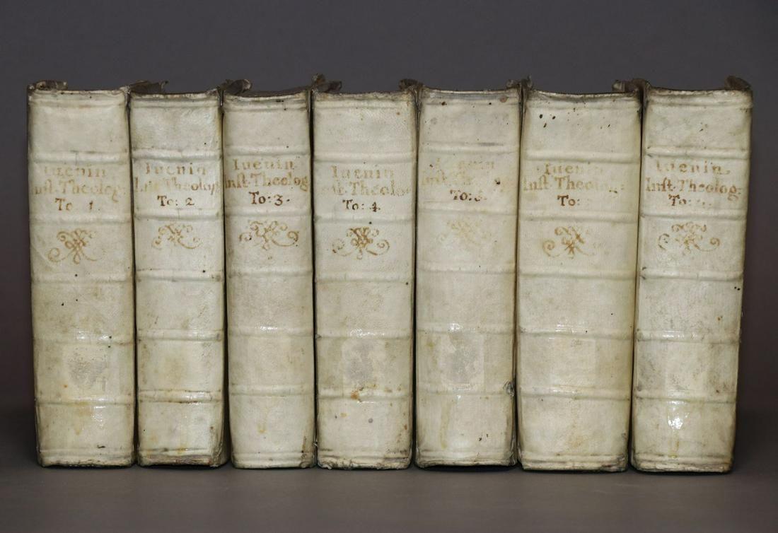[Period Bindings, 7 vol. Set, Vellum]