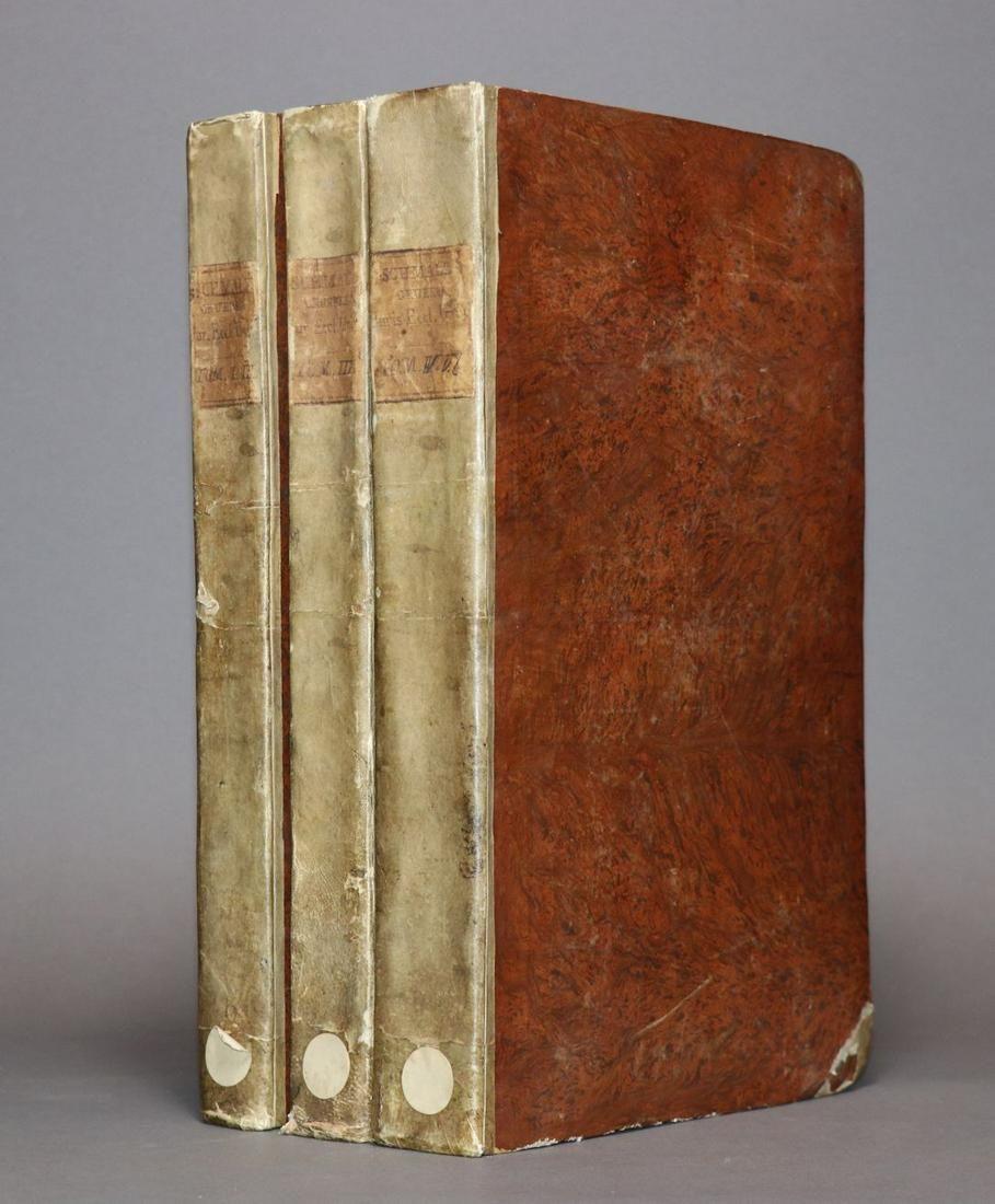 [Period Bindings, Folios, 18th c. 5 v. in 3]