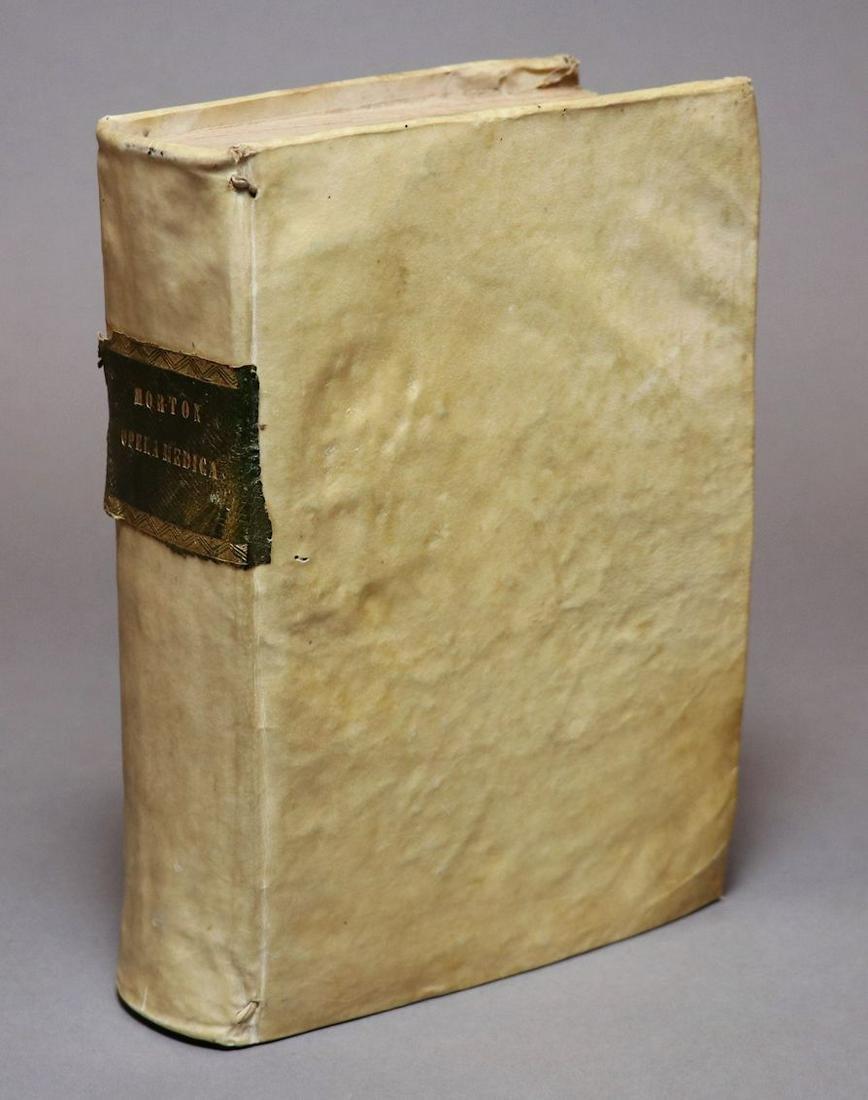 [Medicine]  Richard Morton's Works, 1733