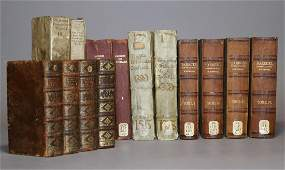 Period Bindings Antique Books 17th18th c