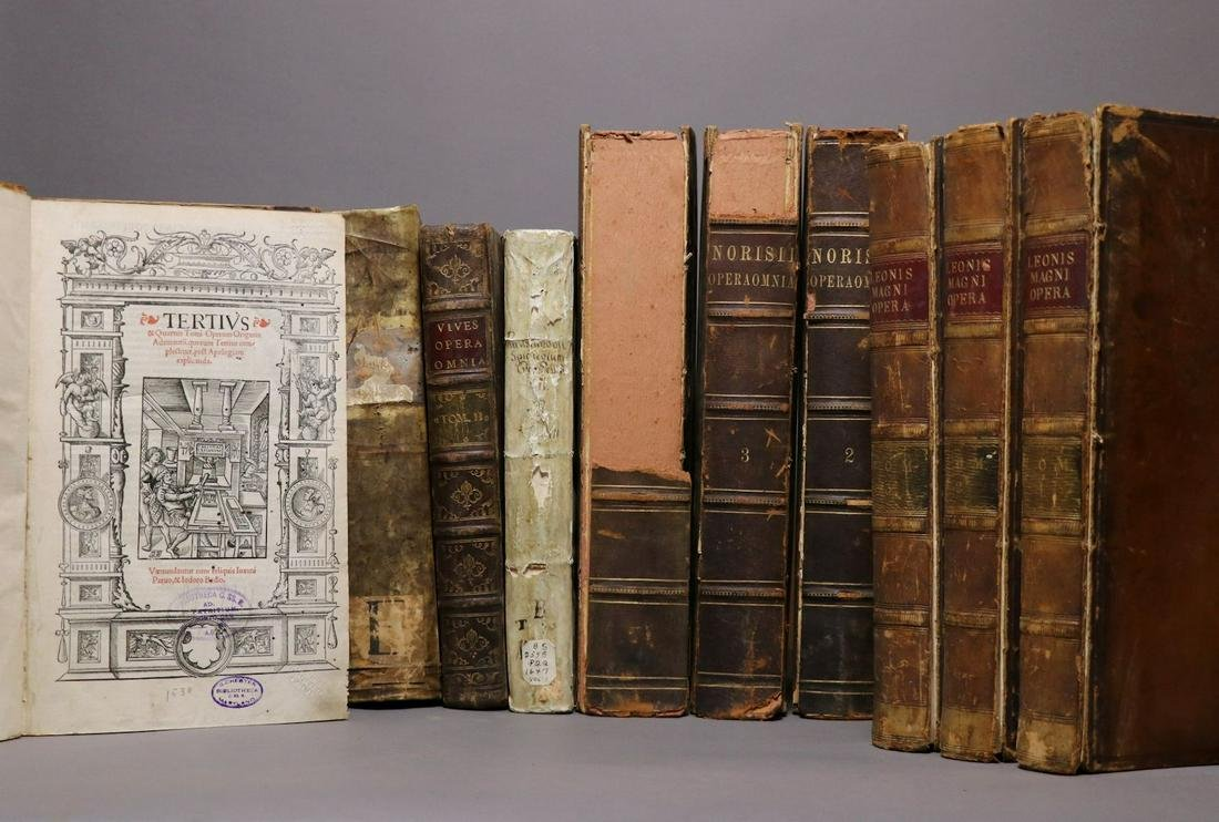 [Antique Books, Period Bindings, Folios, 12v]