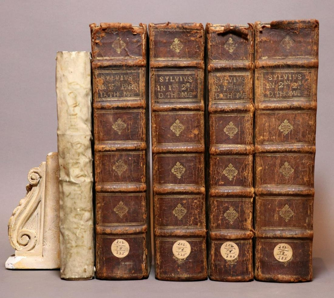 [Period Bindings, Folios, 5 volumes]