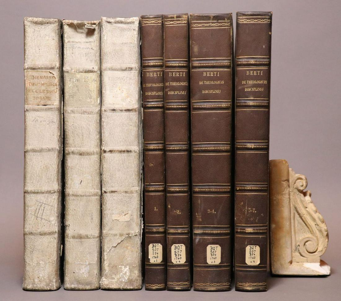 [Period Bindings, Folios, 7 volumes]