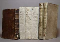 Period Bindings Folios 6 volumes
