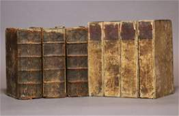 Period Bindings Octavo 7 vols 17th18th c