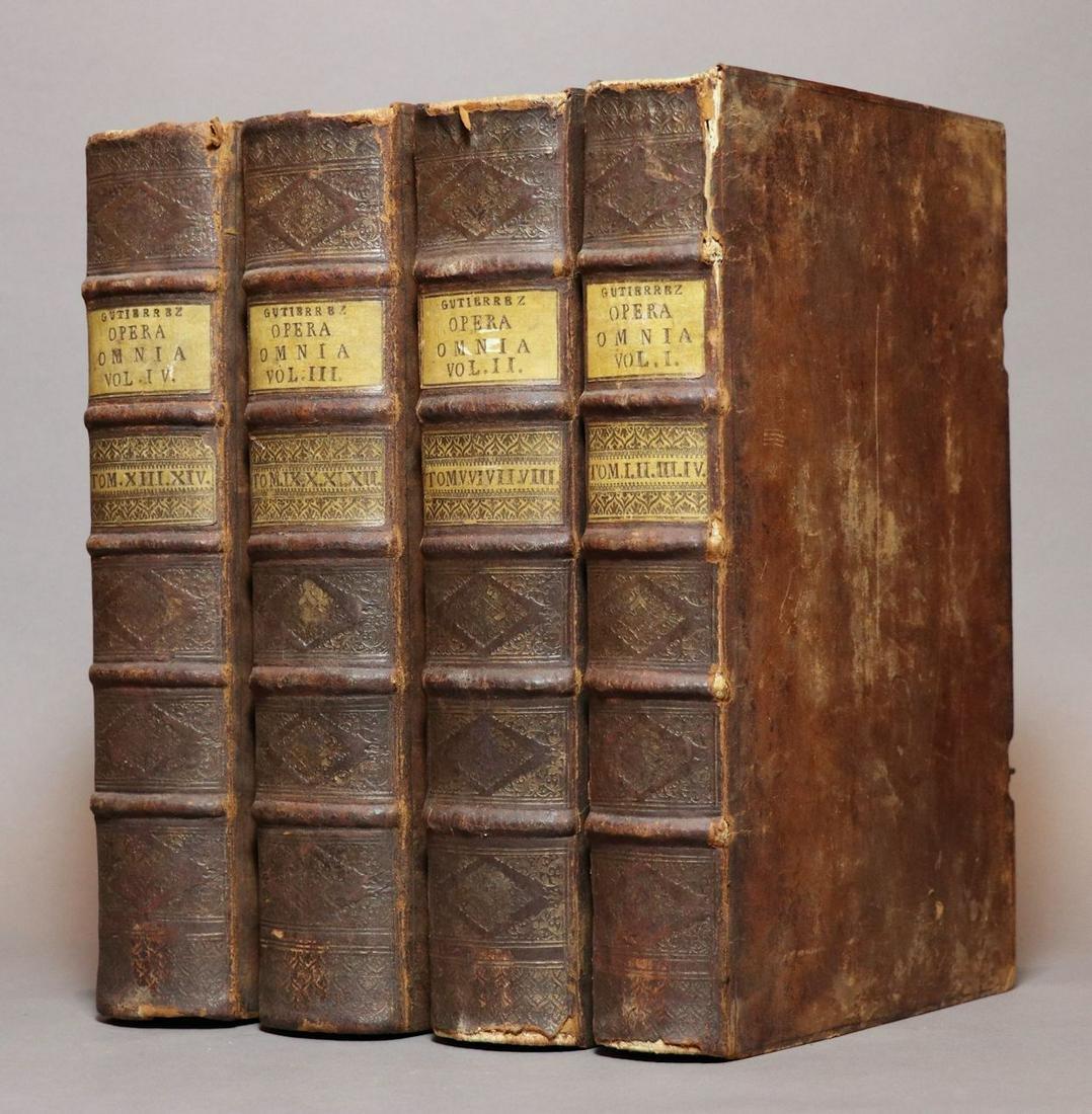 [Period Bindings, Folios, 18th c., 3 vols]