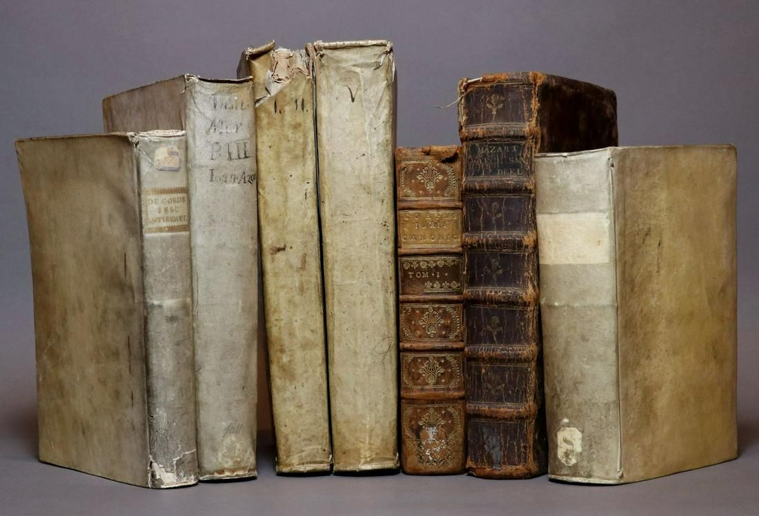 [Period Bindings, Folios, Quartos, 7 vols.]