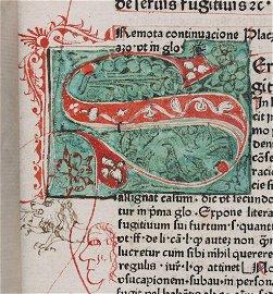 [Incunabula]  Lectura Super Codicem, 1475