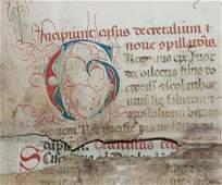Medieval MS Decretals of Gregory IX