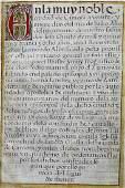 16th c Illuminated Manuscript
