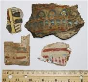 Mummy Mask Cartonnage, 4 Pieces