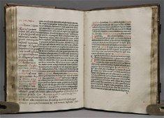 [Incunabula]  Missale Basiliense, ca. 1482