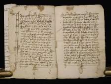 15th c Spanish Manuscript