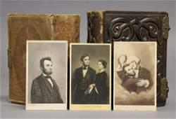 [CDVs, Photos, Lincoln, American Albums]