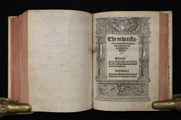 [Bible]  Coverdale, 1st Quarto Ed. In England