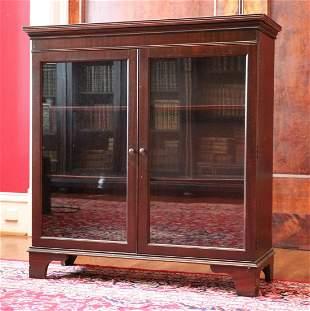 Antique Mahogany Cabinet/Bookcase