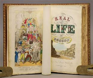 Real Life in London, 1821, Color Plates
