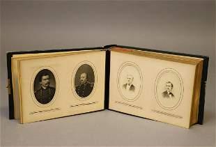 Civil War Era Photo Album, CDVs and Tintypes
