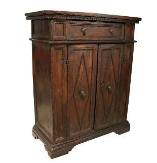 18th c. Walnut Cabinet