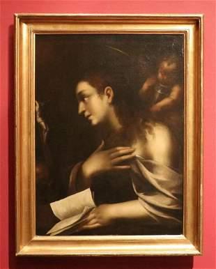 17th c. Oil on Canvas, Lombard School