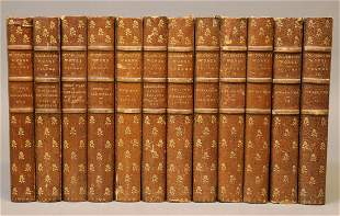 [Bindings, Signed Illustrations] Goldsmith's Works