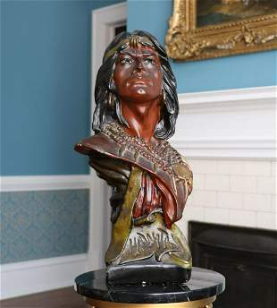 Native American Bust