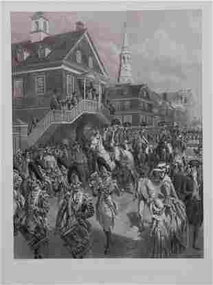 [American Revolution] Large Photogravure