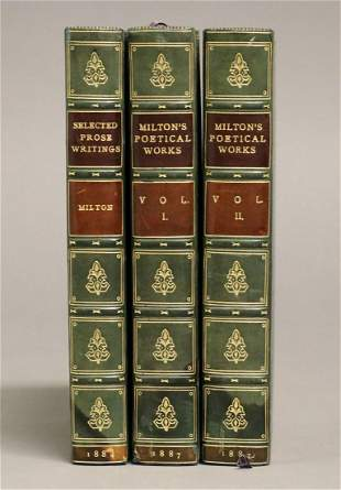 John Milton, Works, Bayntun Bindings