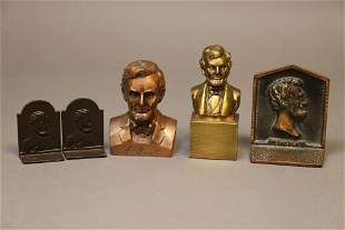 Abraham Lincoln, Lot of Vintage Smalls