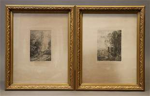 Daubigny, Charles Francois, Etching