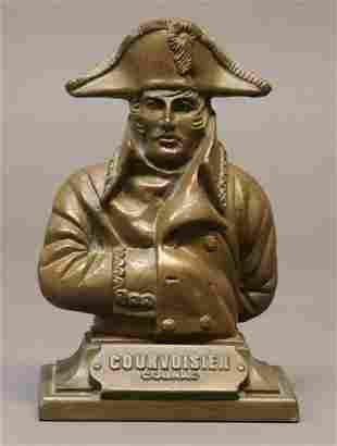 Vintage Cognac Napoleon Bust