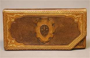 Vintage Italian Leather Box/Wallet