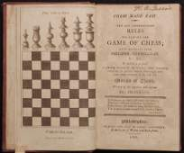 Franklin, Benjamin.  [Chess.  Early American Imprint]