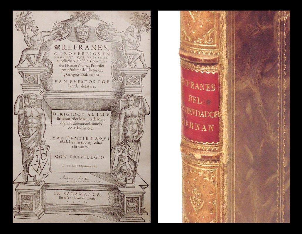 Nunez.  Refranes o Proverbios.  1555 1st ed.