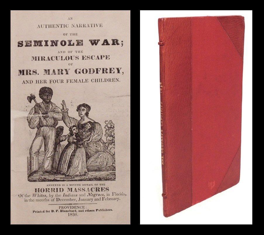 [Seminole War]  An Authentic Narrative, 1836