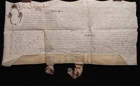 [Manuscript Indenture on Vellum, 1657