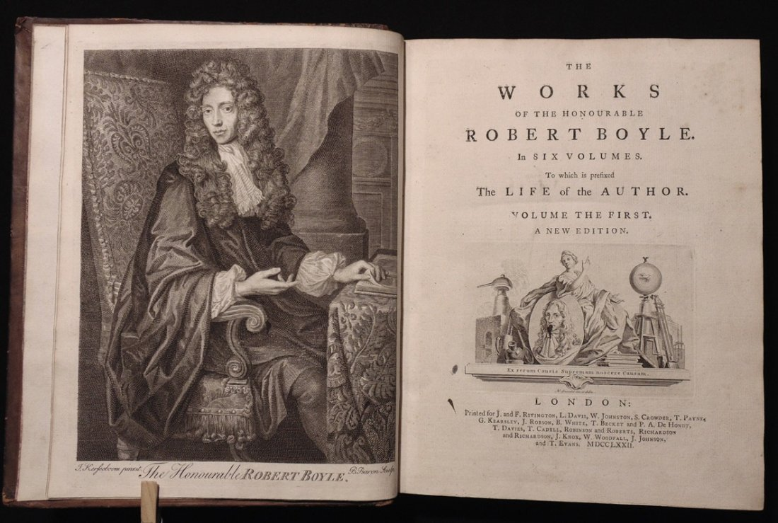 Boyle, Robert.  The Works - 3