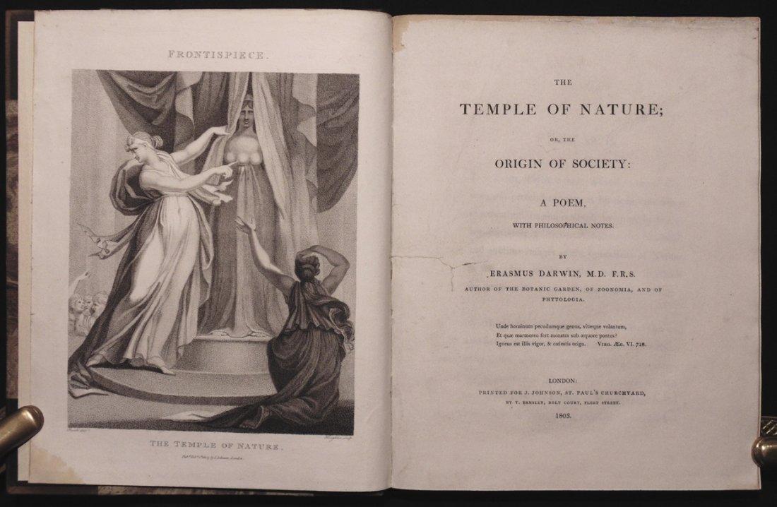 Darwin, Erasmus.  Temple of Nature - 3