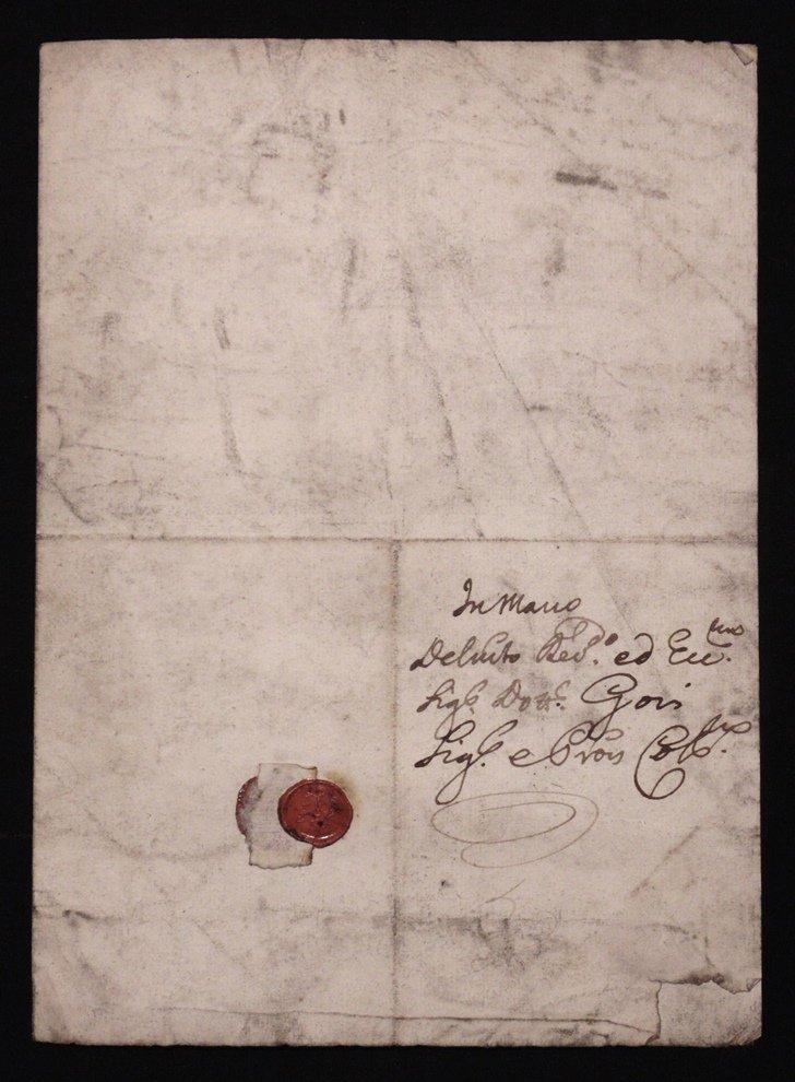 [Manuscript] Antonio Cocchi & Antonio Gori - 3