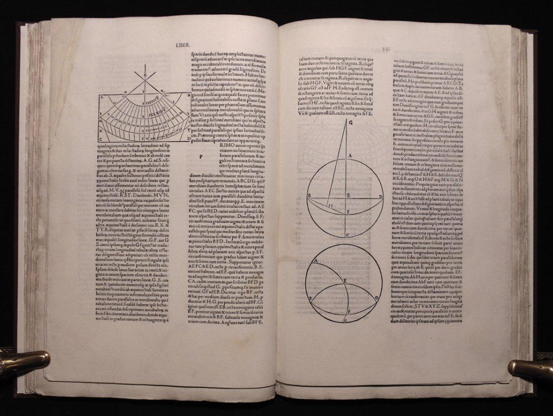 Ptolemy.  Cosmographia, 1490