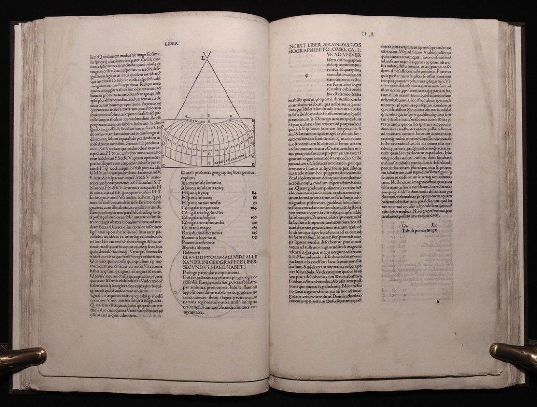 Ptolemy.  Cosmographia, 1490 - 2