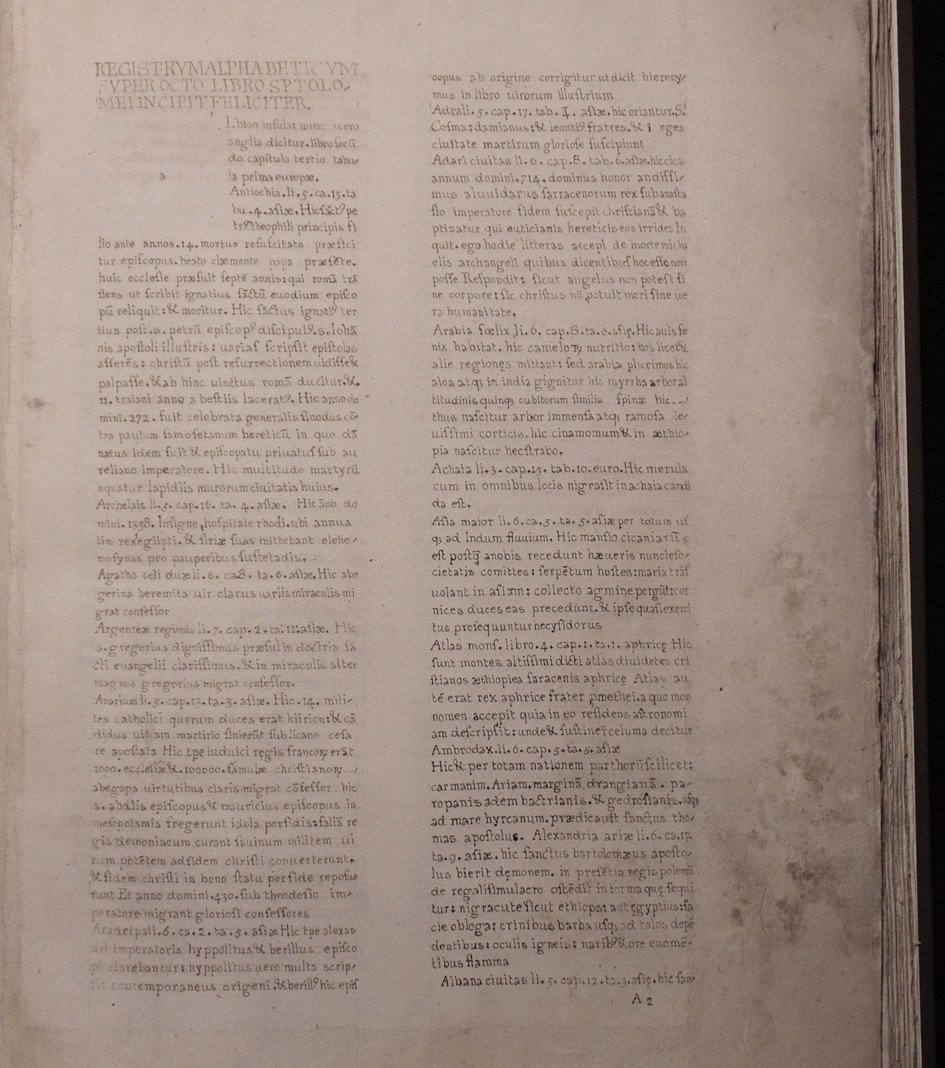 Ptolemy.  Cosmographia, 1490 - 3